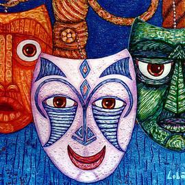 Madalena Lobao-Tello - The joy  the anger and the fear