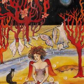 Valentina Plishchina - The Laundry day on the Moon
