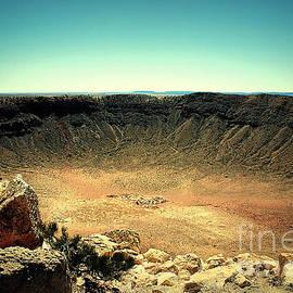 The Meteor Crater In Az by Susanne Van Hulst