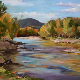 The Pemi in Autumn One by Nancy Griswold