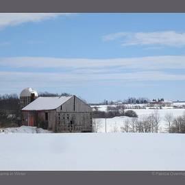 Patricia Overmoyer - Three Farms in Winter