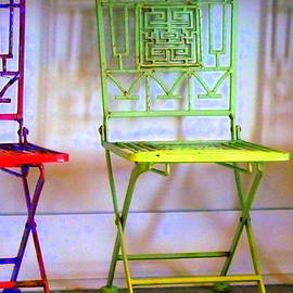 Three Little Chairs by Carla Parris