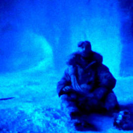 Colette V Hera  Guggenheim  - Time Stopped in a Huge Snow Ice  Grotte