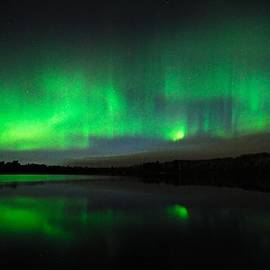 Larry Ricker - Tofte Lake Aurora