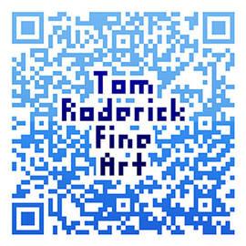 Tom Roderick Fine Art - Qr Code by Tom Roderick