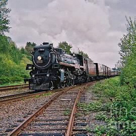 Train Heading Though by Randy Harris