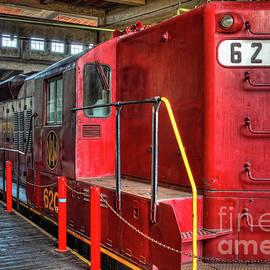 Dan Carmichael - Trains - Red Diesel Locomotive 620