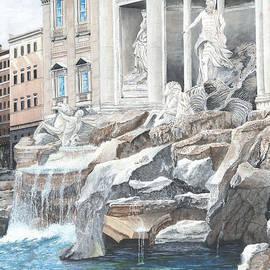 Stuart B Yaeger - Trevi Fountain Rome