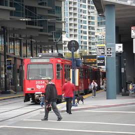 Val Oconnor - Trolley in San Diego