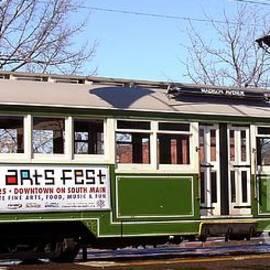 Trolley Ride by Charleen Treasures