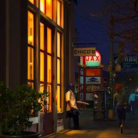 Kathleen K Parker - Twilight on Decatur in the French Quarter