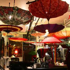 Kym Backland - Umbrella Art