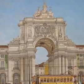 Carlos De Vasconcelos Tavares - Victory Ach Lisbon - Arco da Vitoria Lisboa