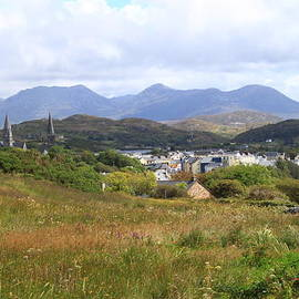 View of Clifden from the Sky Road by Michael O Connell