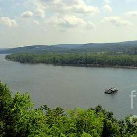 View of Connecticut River from the castle by Meandering Photography