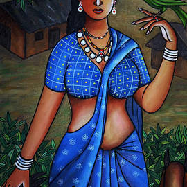 Johnson Moya - Village Girl
