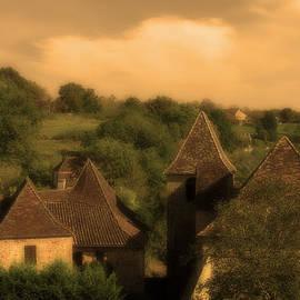 Greg Matchick - Village of Castelnau Bretenoux in Sepia