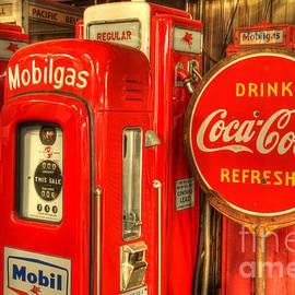 Bob Christopher - Vintage Gasoline Pumps 2