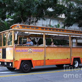 Waikiki Trolley by Mary Deal