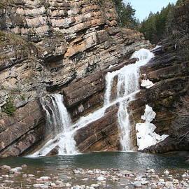 Cameron Falls - Waterton Lakes National Park, Alberta by Ian Mcadie