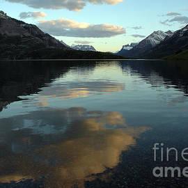 Vivian Christopher - Waterton Lake Sunset Canada