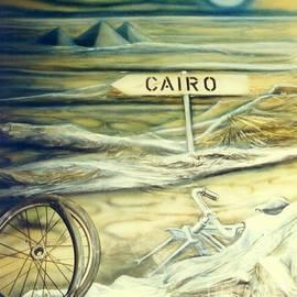 Way To Cairo by Eva-Maria Di Bella