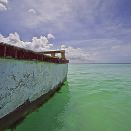 David Letts - Weathered Fishing Boat of the Caribbean
