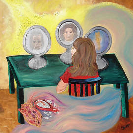 Woman In The Mirror by Lisa Kramer