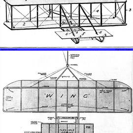 Padre Art - Wright Brothers Patent Drawings 1908