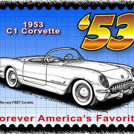 year-By-Year 1953 Corvette by K Scott Teeters