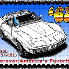 Year-by-year 1968 Corvette by K Scott Teeters