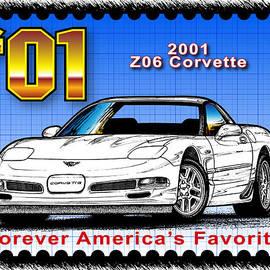 Year-by-year 2001 Z06 Corvette by K Scott Teeters
