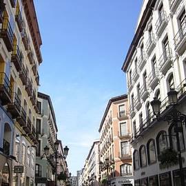 Zaragoza Promenade And Shops In Spain by John Shiron