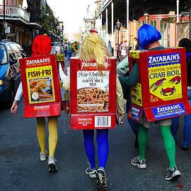 Zatarains Mardi Gras by Jeanne  Woods