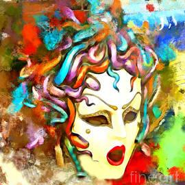 Alan Armstrong - # 4 Mask Venetian Italy