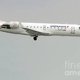 Air France By Britair Canadair- Msn 7321- F-grjq  by Amos Dor