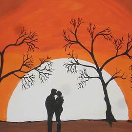 First Kiss by Jeffrey Koss