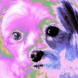 Annie Zeno -  Maltese In Pink
