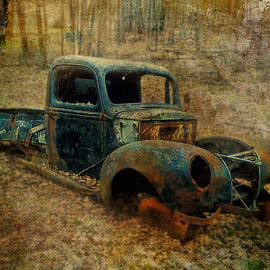 Resurrection Vintage Truck by Christina VanGinkel