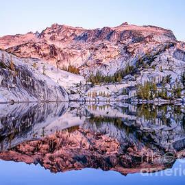 Tracy Knauer -  Sunrise reflection in Leprechaun Lake