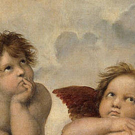 The Sistine Madonna . Detail by Celestial Images