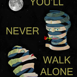 Youll Never Walk Alone Two Heads by Eric Kempson