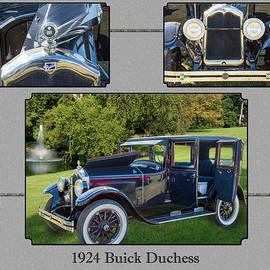 1924 Buick Duchess Antique Vintage Photograph Fine Art Prints 120    by M K Miller