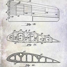 1925 Airplane Wing Patent - Jon Neidert