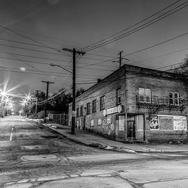 3rd Street Cafe by Gary Fossaceca