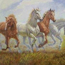 4 Mustangs - Gregory Perillo