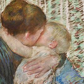 A Goodnight Hug by Mary Stevenson Cassatt