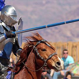 A Joust Tournament at the Arizona Renaissance Festival by Derrick Neill