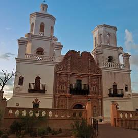 A Mission San Xavier del Bac, Tucson by Derrick Neill