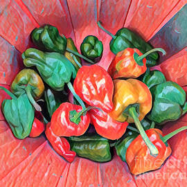 A Passle of Peppers by Miriam Danar